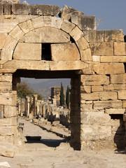 Ruines en Turquie à Pamukkale