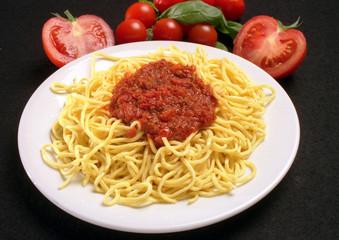 spaghettis à la  bolognèse