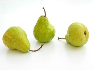 trio de poires