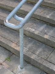 angled handrail