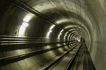 Acrylic Prints Tunnel lrt tunnel