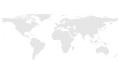 Deurstickers Wereldkaart lines world map