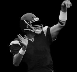 Fotobehang - quarterback