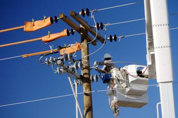 electric utility lineman