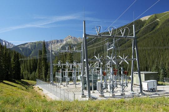 power substation