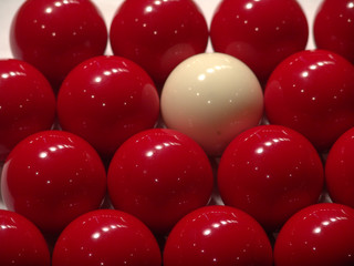 some billiard-balls