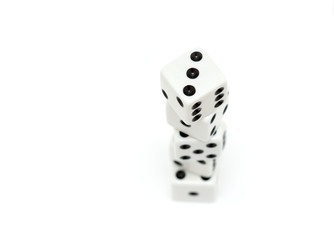 dice tower highkey over white