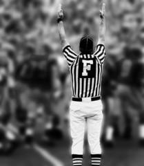Fotobehang - touchdown bw