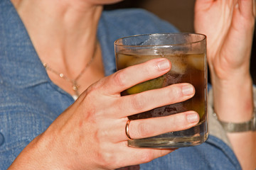 glas in a hand1