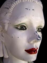 mannequin abimé
