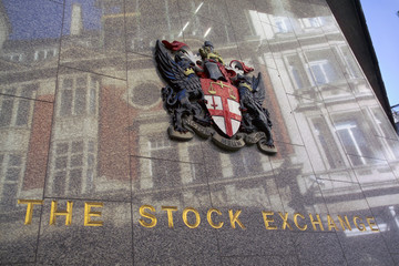 an exterior of the london stock exchange