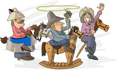 make believe rodeo