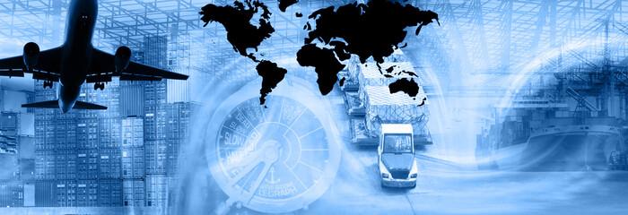 freight template-blue