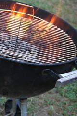 Aluminium Prints Grill / Barbecue hot kettle grill