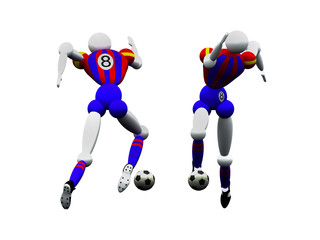 soccer players vol 2