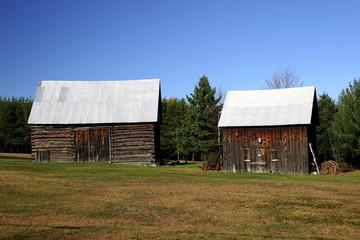 two nice little barns