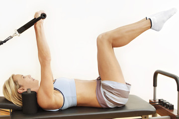 pilates reformer bed