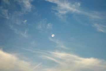 moon by day