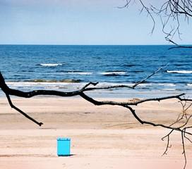 tonne am strand