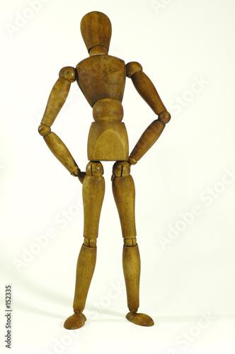 personnage en bois photo libre de droits sur la banque d  ~ Personnage En Bois