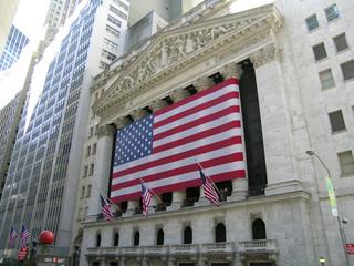 wall street usa flag