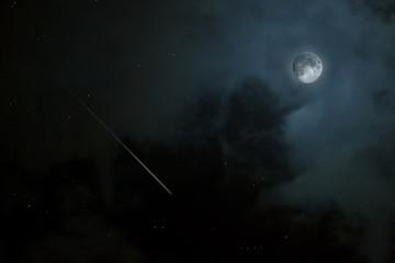 lune et comete