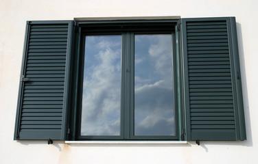 window reflection