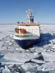 Foto auf Gartenposter Antarktika icebreaker