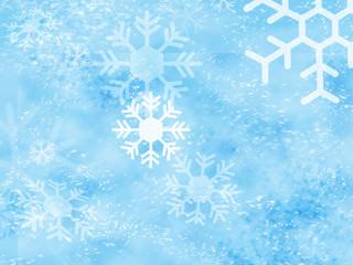 snow flakes background 02