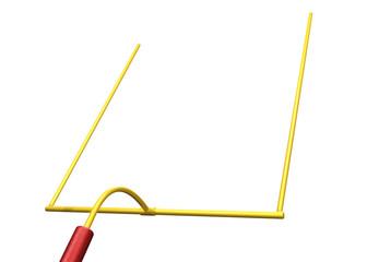 football goal post 01
