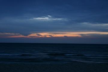 sun before night