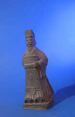 terracotta warrior figurine