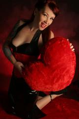 pinup valentine
