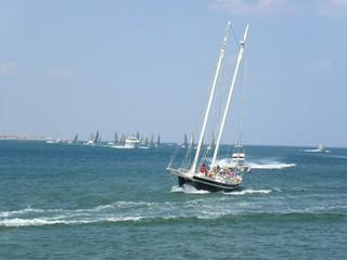 course de voiliers