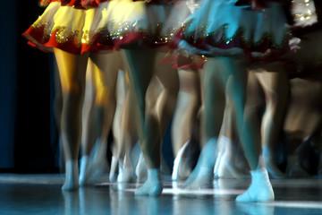 Canvas Prints Carnaval dancing legs