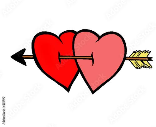 Coeur amoureux photo libre de droits sur la banque d - Un coeur amoureux ...