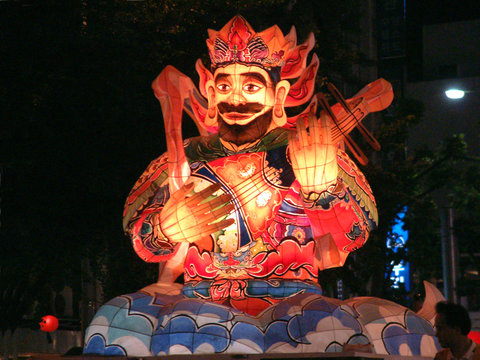 lotus lantern festival float