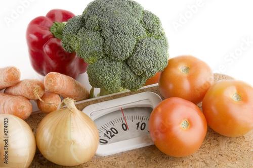Похудела на овощной диете