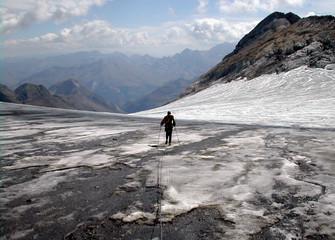 glacier fondu