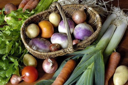 nature morte aux legumes