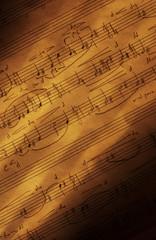 handwritten sheet music (vertical)