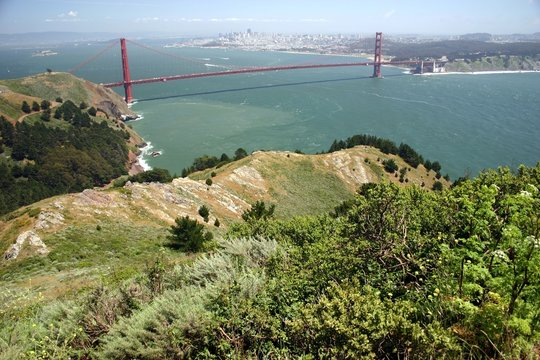 marin headlands view