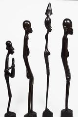 african men in line