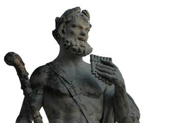 statue romaine détourée