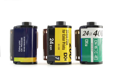 35mm rolls of film