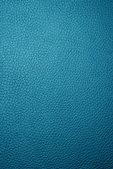 blue leather - macro