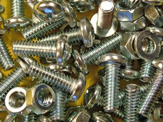 nuts, bolts, screws