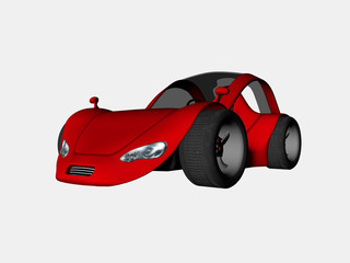 Photo sur Plexiglas Voitures enfants sports car one