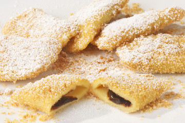 plum dessert - zwetschkentasche