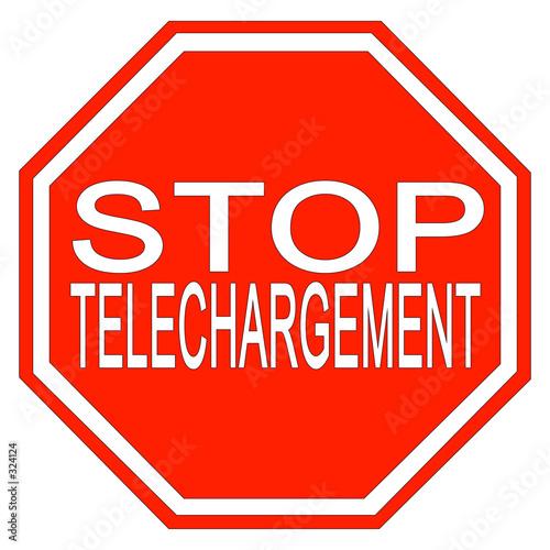 Panneau stop t l chargement photo libre de droits sur la banque d - Prix d un panneau stop ...